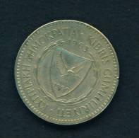 CYPRUS - 1963 100m Circ. As Scan - Chypre