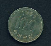 SOUTH KOREA - 1991 100w Circ. As Scan - Korea, South