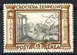 Regno 1933 Posta Aerea, Sassone Serie 1508, N. 49, Usato, Firmato ADiena Cat. € 1000 - 1900-44 Victor Emmanuel III.