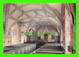 SUÈDE - KALMAR SLOTT, KYRKAN - CASTLE, THE CHAPEL - FARGFOTO, ROLF LIND - - Suède