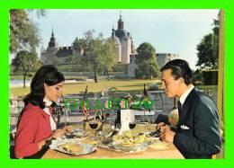 SUÈDE - KALMAR SLOTT - STADSPARKENS RESTAURANG - SOMMARRESTAURANGEN VID SLOTTET - - Suède
