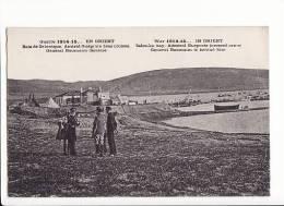 Guerre 1914-15 En Orient , Baie De Salonique , Amiral Guéprate Bras Croisé, Général Baumann Derrière - Griekenland
