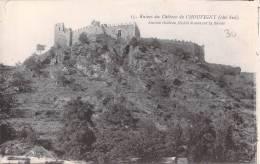 03 RUINES DE CHATEAU DE CHOUVIGNY COTE SUD / ANCIEN CHATEAU FEODAL DOMINANT LA SIOULE - Altri Comuni