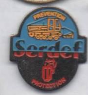 Serdef , Engin De Chantier , TP - Pin