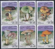 Afghanistan Mushrooms Pilze Set °BM0008 MNH - Pilze