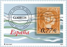 ESPAÑA 2004 - 150 AÑOS DEL PRIMER SELLO EN FILIPINAS -Edifil Nº 4114 - Yvert 3693 - Timbres Sur Timbres