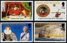Falkland 1992 - Decouverte Des Iles Falkland - 4v Neufs*** (MNH) - Falkland
