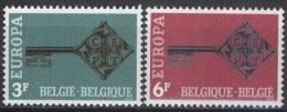 BELGIEN MI-NR. 1511/12 ** MNH - CEPT 1968 (102) - 1968