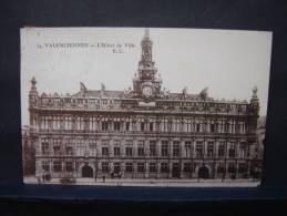 CP. 209. Valenciennes. L'Hôtel De Ville. - Valenciennes