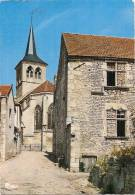 FLAVIGNY-sur-OZERAIN -Rue De La Poterne Et Abside De L´Eglise  Timbrée TTB - Francia