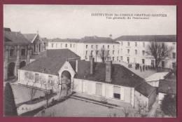 53 - 190313 - CHATEAU GONTIER - Institution Ste Ursule - Vue Générale Du Pensionnat - Chateau Gontier