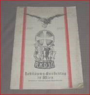 JUBILÄUMS-BUNDESTAG IN WIEN, Katholische Deutsche Jugend, 1917 - 1927, 32 Seiten - Libri Vecchi E Da Collezione
