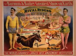 CPM - Cirque - Barnum & Bailey - Greatest Show On Earth  - The Rival Riders - Clown - Acrobates - Cirque