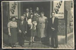 """Photo """"Boitsfort - Rue Du Curé - Coin Rue De Liège - Café Du Bon Coin 1950"""" - Non Classés"""