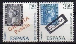 ESPAÑA 1968 -DIA MUNDIAL DEL SELLO - EDIFIL Nº 1869-1870 - Timbres Sur Timbres