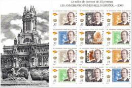 ESPAÑA 2000 - 150 ANIVERSARIO DEL SELLO - EDIFIL Nº 3687-3693 - YVERT 3254-3260 - Timbres Sur Timbres