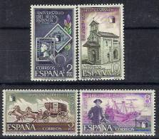 ESPAÑA 1975 - 125º ANIVERSARIO DEL PRIMER SELLO - EDIFL  Nº 2232-2235 - YVERT 1886-1889 - Timbres Sur Timbres