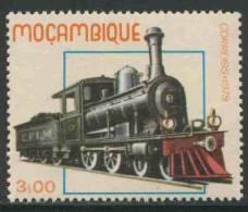 Mocambique  Mozambique 1979 Mi 721 ** Cape Government Railway 1st Cl/ Dampflokomotiven Von Eisenbahnlinien In Moçambique - Treinen