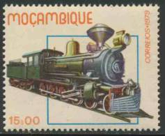 Mocambique  Mozambique 1979 Mi 724 ** Trans Zambesia Railway Class D Steam / Dampflokomotiven Eisenbahnlinien Moçambique - Treinen