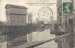 CORBEIL  - 91 - Inondations De La Seine 1910 - Environs De La Gare, Rue Lafayette  - 1803 - Corbeil Essonnes