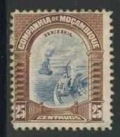 Mocambique Gesellschaft Mozambique Company 1925 Mi 160 * MH - Port Beira / Hafen - Transportmiddelen