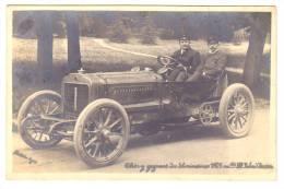 THERY Vainqueur De La COUPE GORDON BENNETTen 1905 Sur Sa Voiture De Course 96 Chevaux RICHARD BRASIER Circuit D´Auvergne - France