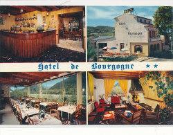 04 // DIGNE  HOTEL DE BOURGOGNE   CPSM MULTIVUES - Digne