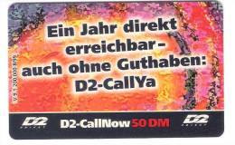 GERMANY  - D2 - Call Now - V9.1 - Ex. Date 09/01 - Germany