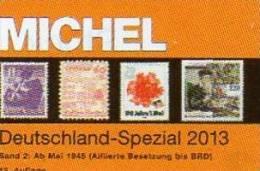 Deutschland Spezial Band 2 MICHEL Briefmarken Katalog 2013 Neu 78€ Bizone Saar SBZ DDR Berlin BRD ISBN 978-3-95402-053-9 - Collections