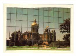 Etats Unis: Des Moines, Reflet Du Capitole Sur La Façade Du Wallace Building, Reflection Of The Capitol (13-870) - Des Moines