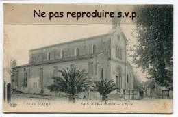 -  St-CYR-SUR-MER - L´Eglise - Cliché Peu Courant, écrite, Bon état, Voyagé Dans Enveloppe,  Scans. - Saint-Cyr-sur-Mer
