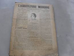 L´Agriculture  Moderne  N° 167  12 Mars  1899 - Journaux - Quotidiens