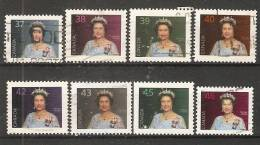 Canada  1987-98  Definitives; Queen Elizabeth II  (o) Portrait - 1952-.... Reign Of Elizabeth II