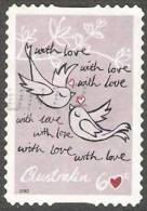 AUSTRALIA - DIECUT - USED 2012 60c  Precious Moments - Love Birds - 2010-... Elizabeth II