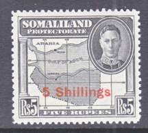 Somaliland  Protectorate 126   * - Somaliland (Protectorate ...-1959)
