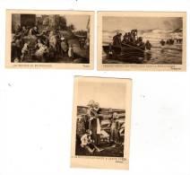 Chromo , Arts , Peintures Et Tableaux , TALLEGRAIN , TENIERS , SALMSON , Lot De 3 Images - Autres