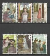 Groot-Brittannie 2013 Jane Austen 3800/3805 *** - 1952-.... (Elizabeth II)