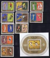 1972  Jeux Olympiques De Munich Michel  942-51 Bloc 108 * - Sharjah