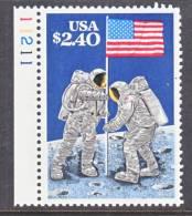 U.S. 2419   **  MOON  LANDING  SPACE - United States