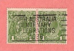 AUS SC #114 Used PR  1931 King George V  W/slogan Cancel - Gebruikt