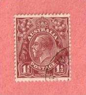AUS SC #115  1936 King George V