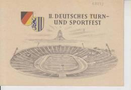 Ersttagsbrief Deutsches Turnfest Leipzig Stadion Stadium 2.8.1956 - [6] República Democrática