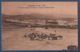 MILITARES - CP CAMPAÑA DEL RIF 1921 - VISTA DEL POBLADO DE ZELUAN AL OCUPARIO NUESTRAS TROPAS - Otras Guerras