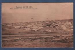 MILITARES - CP CAMPAÑA DEL RIF 1921 - VISTA DE NADOR EN EL MOMENTO DE LA OCUPACION - Otras Guerras