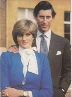 Lady Diana, Royal Wedding,  Postcard, 1981 Kardorama Series - Königshäuser