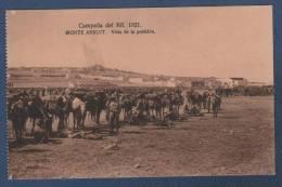 MILITARES - CP CAMPAÑA DEL RIF 1921 - MONTE ARRUIT - VISTA DE LA POSICION - Otras Guerras