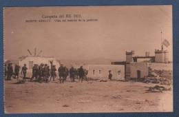 MILITARES - CP CAMPAÑA DEL RIF 1921 - MONTE ARRUIT - VISTA DEL INTERIOR DE LA POSICION - Otras Guerras