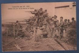 MILITARES - CP CAMPAÑA DEL RIF 1921 - DEFENSA DEL POZO DE LA ESTACION DE TAUIMA - Otras Guerras