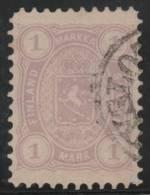 FINLANDIA 1875/81 - Yvert #18a - VFU - 1856-1917 Administración Rusa