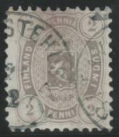 FINLANDIA 1875/81 - Yvert #16a (dentado 11) - VFU - 1856-1917 Administración Rusa